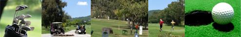 Golf around Lake Chapala Mexico