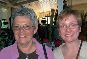 Nancy Hughes and Colleen Davenport