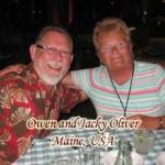 Owen and Jacky Oliver