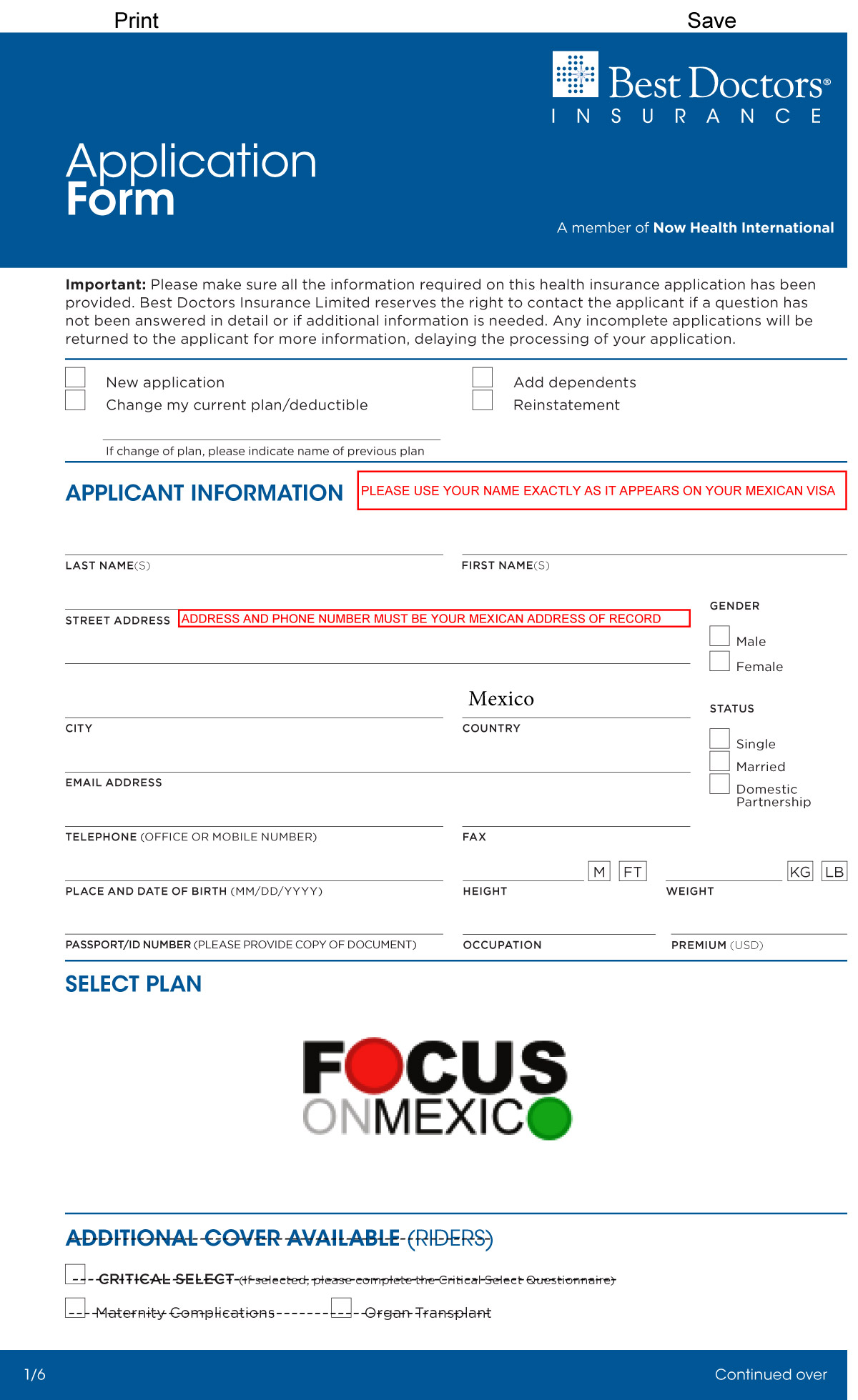 2017-Focus-Best-DoctorsL-Group-Appn-rev-Jan2017-1