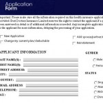 Application web site