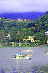 Beautiful Lake Chapala in the Rainy Season