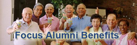 Focus Alumni Benefits