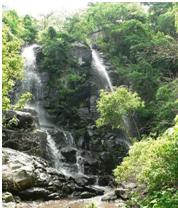 waterfall at tepalo