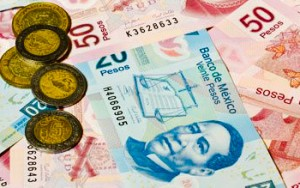 Mexican Currency - Focus On Mexico